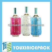 2013 fashion wine bottle gel cooler bags