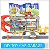 Shantou Toy New Design PP Material Parking Garage Children Intelligent Game