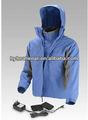 de alta moda de ropa de mujer de invierno con calefacción de esquí chaqueta con capucha desmontable