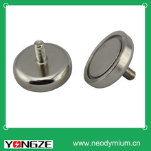 Strong Screw Thread M3,M4, M6,M8,Pot Magnet