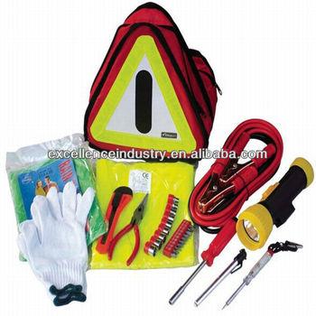 Emergency Motorcycle Tyre Repait Kit, CO2 Cartridges, Tubeless Tire Repair Kit