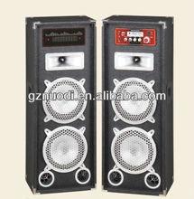 10 inch speaker stage/2.0 professional speaker/sound system with USB/SD/FM+woofer lights