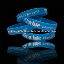 silicone bracelet/fashion silicone bracelets/cheap custom silicone bracelets