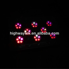 led grow lamp panel 300w with iron hoursing with 780 740nm 10band spectrum