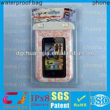 universal wholesale factory pvc waterproof plastic bag for mobile phone