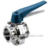 New Product stainless steel butterfly valve