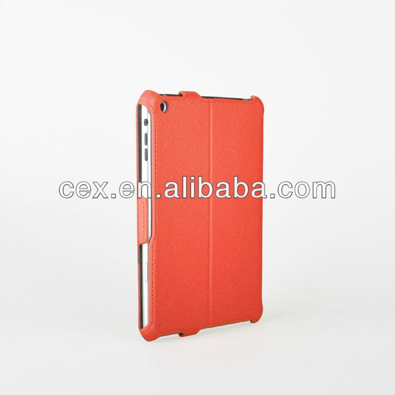 Slim-Fit Folio PU Leather Stand Case for iPad Mini 2 with Retina Display (2013) & Mini