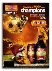 VITALIS Premium Dark Malt Beverage canned 24x33cl