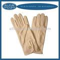 ファッションの新しいデザイン2014年有用な肌の色の綿の手袋