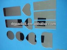 simple heart shaped custom wall mirror acrylic centerpiece mirror