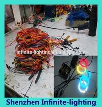 bright el wire / el chasing wire /polar light 3 el wire in 10 different colors