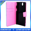 2013 western cell phone cases pu leather phone case for lenovo a390