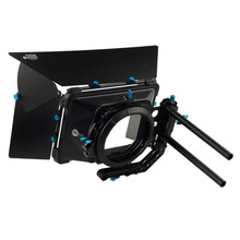 FOTGA DP3000 Professional swing away matte box sunshade w/ donuts filter tray for 15mm rod follow focus video DSLR camera rig