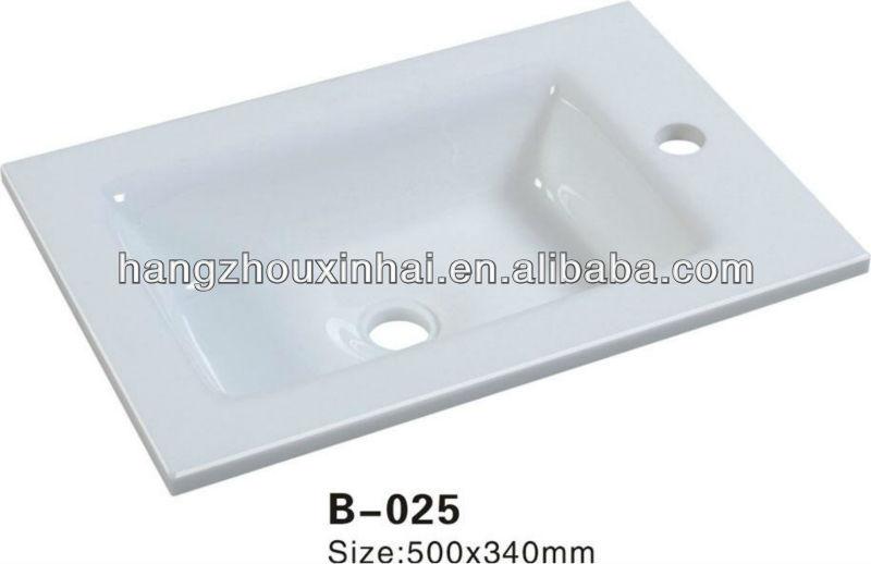 Kunstmatige mooie heet verkoop kleine lange grote witte phoenix steen glas wastafel in - Kleine ijdelheid ...