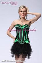 burlesque fancy dress sexy schoolgirl costume and dance costume cosplay costume