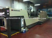 Printing Machine Mitsubishi Diamond 3000 LS-5 Coater - Age 2008.