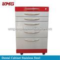 Dental de muebles: de metal del gabinete dental móvil del gabinete dental