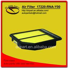 air filter for 17220-RNA-Y00 HONDA Crossroad/ FR-V/ Stream
