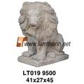 vietnam cotto antico leone giardino statua