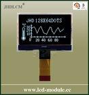 3.3v transparent negative small lcd display screen JHD12864-G126BTW-BL