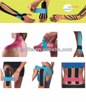 2015 multicolor muscle elastic spider match game multifunction London Olympics tape ertified Kinesiology tape Reduce Pain tape