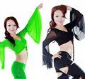Venta al por mayor swegal manga larga danza del vientre superior, danza del vientre desgaste, danza del vientre egipcia traje sgbdb13069
