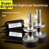 6400LM super bright CREE LED car headlight/H4/H7/H8/H11