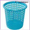2014 New Design Plastic Eco-Friendly Cheap& Household Cleaning Tool Low Factory Price Round Waste Paper Basket