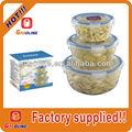 a medida de alta calidad de plástico contenedores de alimentos