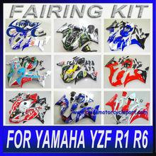 Dropship From Guangzhou Drop ship suppliers Motorcycle Fairing kit For Yamaha super kit