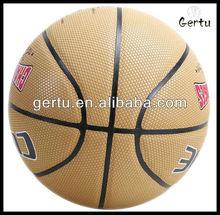 2015 promotional Customized Pu Laminated Basketball