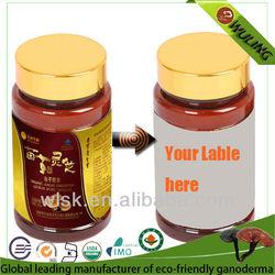 Red Reishi Capsule Herbal Supplement