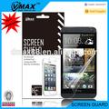 Accesorios del teléfono celular impermeable protector de pantalla para htc uno m7 oem/odm