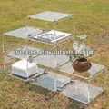 los hogares de soporte de acrílico muebles de acrílico estante de exhibición