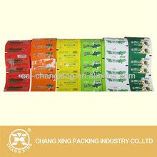 High barrier metallized sachet packaging film