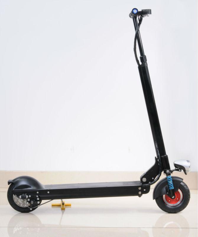 2014New Arrive 36V Li-battery Folding Portable Electric Scooter Foldable Adult E-scooter