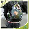 drawstring shoulder bag for school boys non woven backpack for travelling