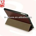 Brown PU Leather for Apple iPad Mini Smart Case