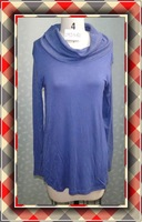 Women Clothing Long Sleeve Blouse And Neck Design Model