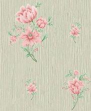 Environmental European wallpaper acanthus leaf bedroom flower wallpaper Flower wallpaper wholesale Special