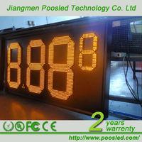 7 segment electronic sign screen \ 7 segment led display blue \ 7 segment numeric banner board