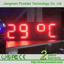 time humidity display board \ time humidity panel billboard \ time humidity screen panel