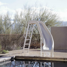 Supply Anti ultraviolet radiation water slide giant