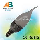 2.5w 5050smd led light 24v dimmable led bulb light e14 chandelier