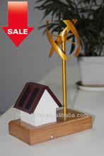 2014 Home Decorations of Solar Vertical Wind Turbine Model