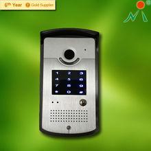 TCP/IP intercom door phone with ten numeric keys screen