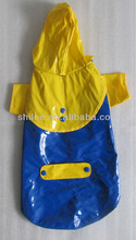 Durable pet raincoat for dogs