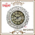 Large round wall clock B8124WS