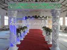 Newest Wedding Designs Crystal Mandap Decoration