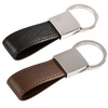 well known car brand keychain leather car keychain